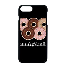 Five donuts in one minute  Apple iPhone 7 Plus Seamless Case (Black)