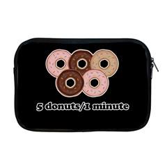 Five donuts in one minute  Apple MacBook Pro 17  Zipper Case