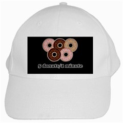 Five donuts in one minute  White Cap
