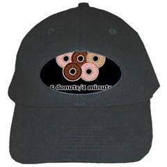 Five donuts in one minute  Black Cap