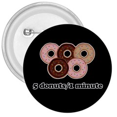 Five donuts in one minute  3  Buttons