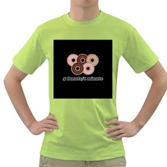 Five donuts in one minute  Green T-Shirt