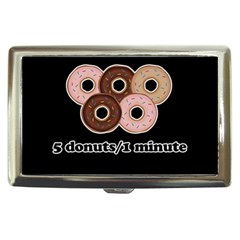 Five donuts in one minute  Cigarette Money Cases