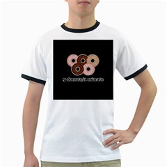 Five donuts in one minute  Ringer T-Shirts