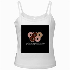 Five donuts in one minute  Ladies Camisoles