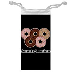 Five donuts in one minute  Jewelry Bag