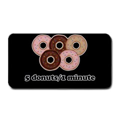 Five donuts in one minute  Medium Bar Mats
