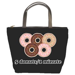 Five donuts in one minute  Bucket Bags