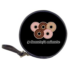 Five donuts in one minute  Classic 20-CD Wallets