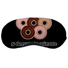 Five donuts in one minute  Sleeping Masks