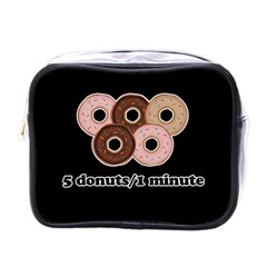 Five donuts in one minute  Mini Toiletries Bags
