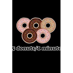 Five donuts in one minute  5.5  x 8.5  Notebooks