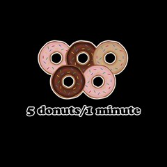 Five donuts in one minute  Magic Photo Cubes