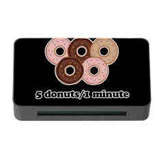 Five donuts in one minute  Memory Card Reader with CF