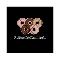 Five donuts in one minute  Acrylic Tangram Puzzle (6  x 6 )
