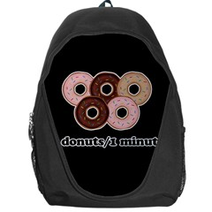 Five donuts in one minute  Backpack Bag