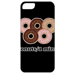 Five donuts in one minute  Apple iPhone 5 Classic Hardshell Case