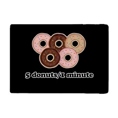 Five donuts in one minute  Apple iPad Mini Flip Case