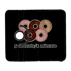 Five donuts in one minute  Galaxy S3 (Flip/Folio)