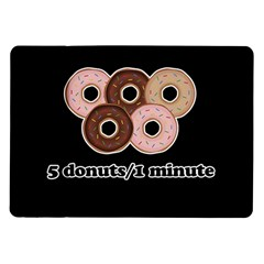 Five donuts in one minute  Samsung Galaxy Tab 10.1  P7500 Flip Case