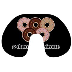 Five donuts in one minute  Travel Neck Pillows