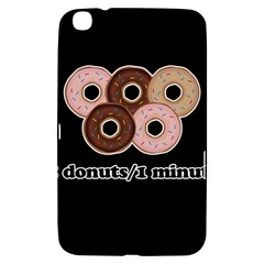 Five donuts in one minute  Samsung Galaxy Tab 3 (8 ) T3100 Hardshell Case