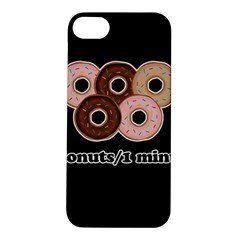 Five donuts in one minute  Apple iPhone 5S/ SE Hardshell Case