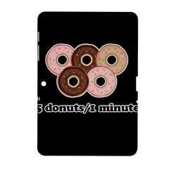 Five donuts in one minute  Samsung Galaxy Tab 2 (10.1 ) P5100 Hardshell Case