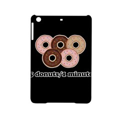 Five donuts in one minute  iPad Mini 2 Hardshell Cases