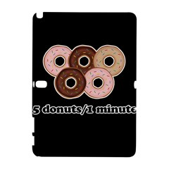 Five donuts in one minute  Galaxy Note 1