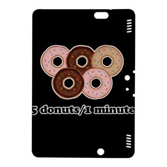 Five donuts in one minute  Kindle Fire HDX 8.9  Hardshell Case