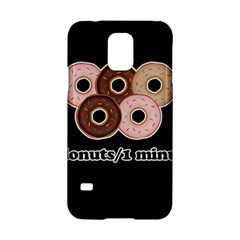 Five donuts in one minute  Samsung Galaxy S5 Hardshell Case