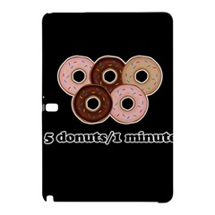 Five donuts in one minute  Samsung Galaxy Tab Pro 12.2 Hardshell Case
