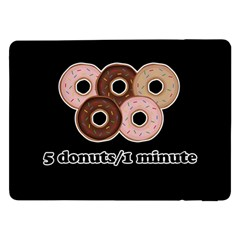 Five donuts in one minute  Samsung Galaxy Tab Pro 12.2  Flip Case