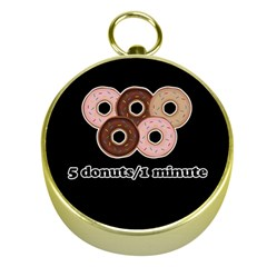 Five donuts in one minute  Gold Compasses
