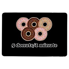 Five donuts in one minute  iPad Air Flip