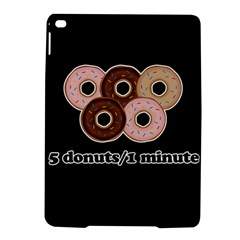 Five donuts in one minute  iPad Air 2 Hardshell Cases