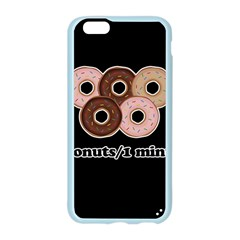 Five donuts in one minute  Apple Seamless iPhone 6/6S Case (Color)