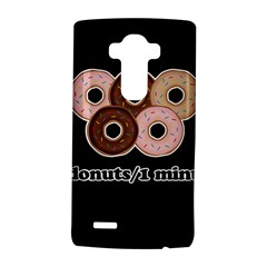 Five donuts in one minute  LG G4 Hardshell Case