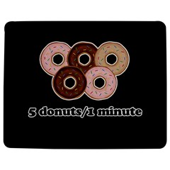 Five donuts in one minute  Jigsaw Puzzle Photo Stand (Rectangular)