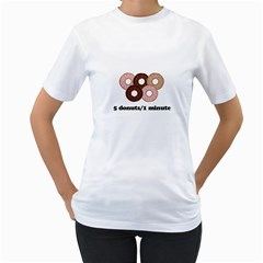 852 Women s T-Shirt (White) (Two Sided)