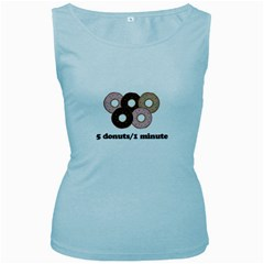 852 Women s Baby Blue Tank Top