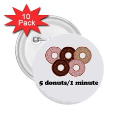 852 2.25  Buttons (10 pack)