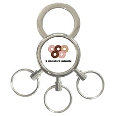 852 3-Ring Key Chains