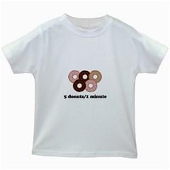 852 Kids White T-Shirts