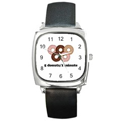 852 Square Metal Watch