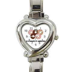 852 Heart Italian Charm Watch