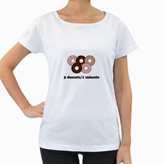 852 Women s Loose-Fit T-Shirt (White)