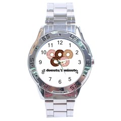 852 Stainless Steel Analogue Watch