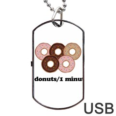 852 Dog Tag USB Flash (One Side)